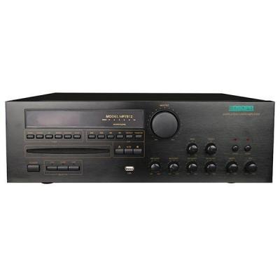 MP7812 60W-350W 2 Zones All in One Mixer Amplifier avec CD / DVD / MP3 / Tuner