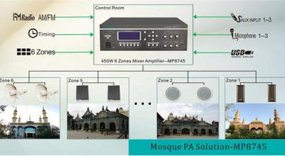 Mosquée PA Solution-MP8745